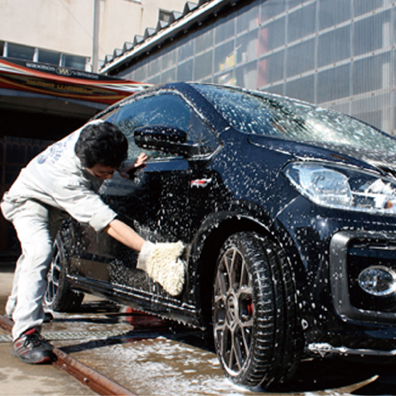 手洗い洗車イメージ