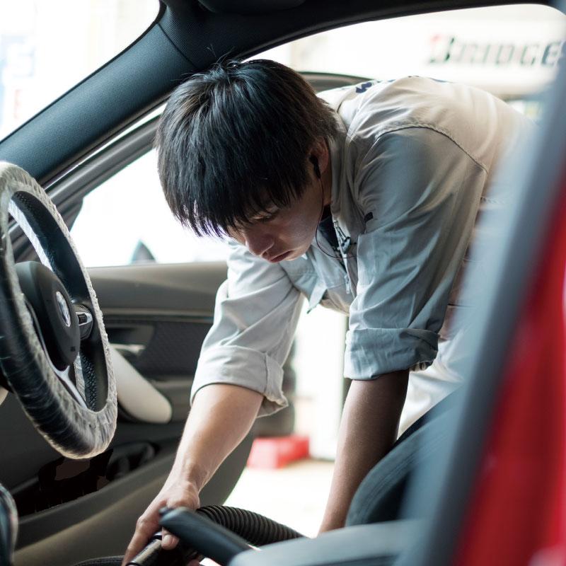 車内清掃イメージ